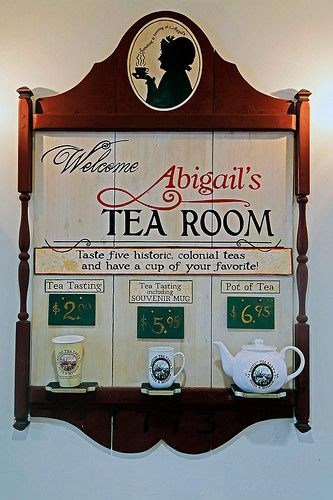 Tea Time at Abigail's Tea Room
