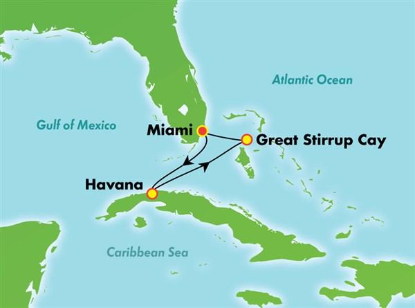 Cuba and Bahama Cruise on NCL Norwegian Sky