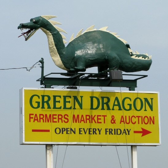 Green Dragon Market & Lunch at Shady Maple