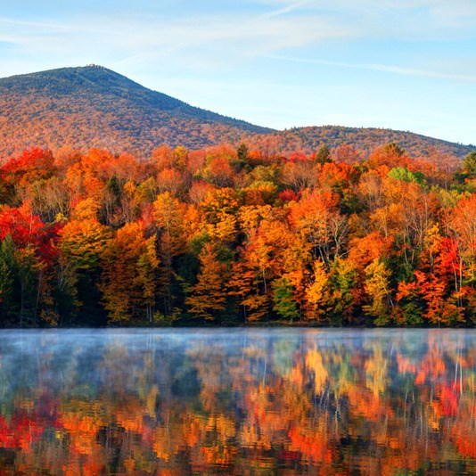 Fall Foliage in Vermont - Killington Vermont