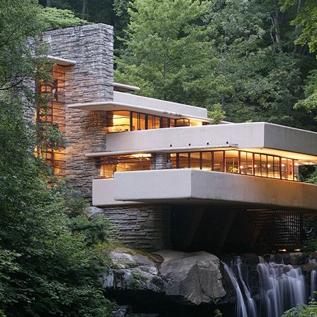 Frank Lloyd Wright Homes (Fallingwater & Kentuck)