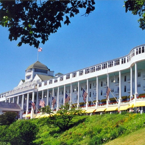 Mackinac Island The Grand Hotel