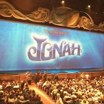"Sight & Sound Millennium Theatre ""Jonah"" Oct 11"