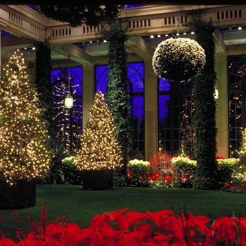 Longwood Gardens Christmas & Dinner @ Terrace Cafe