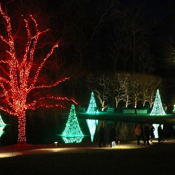 tour - Longwood Gardens Christmas Lights
