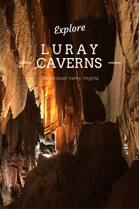 Luray Caverns in the Springtime