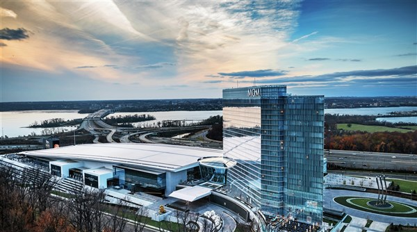 MGM National Harbor Casino & ICE!
