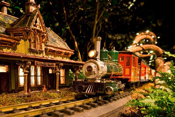 Holiday Train Show at NY Botanical Gardens