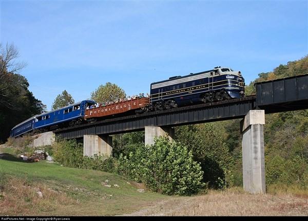 Potomac Eagle Scenic Train Ride