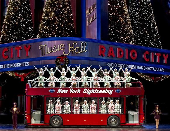 Tour: Radio City Christmas Spectacular in New York City, New York ...