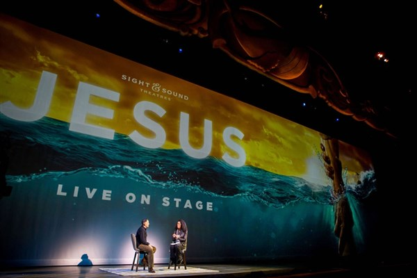 "Sight & Sound ""JESUS"" & Dinner at Hershey Farm"