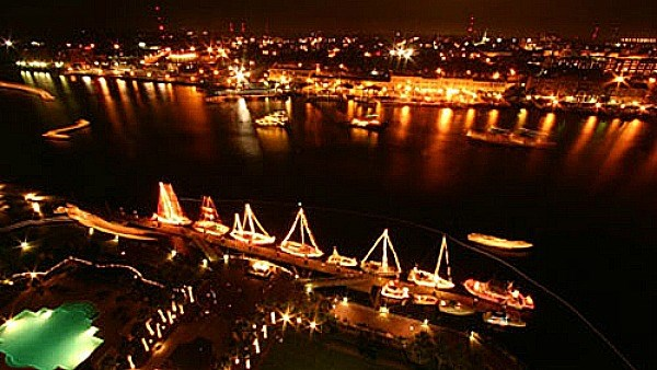 Savannah's Holiday Boat Parade