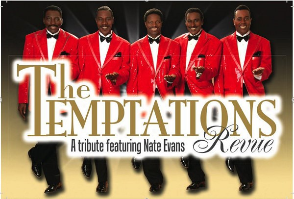 The Temptations Revue at Dover Downs Casino