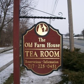 Tea Time at The Old Farm House & Brown's Orchard