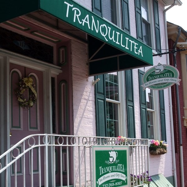 Tea Time at Tranquila Tea Room & Baugher's Market